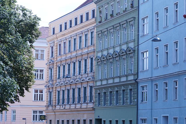 Eine weitere tolle Häuserfassade in Wien